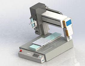 3D model Desk type glue machine