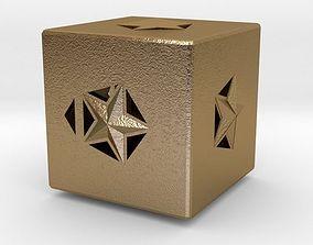 house 3D printable model Dice