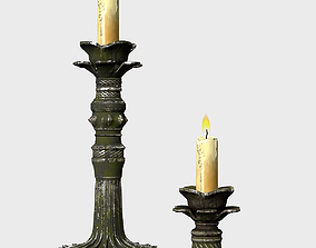 Candle Holder 3D asset low-poly