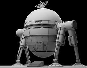 3D model Mars lander