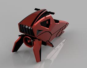 speeder 3D printable model Balutar-class swoop