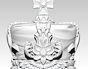 King Crown 3D print model solid