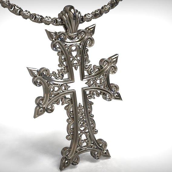 The cross pendant