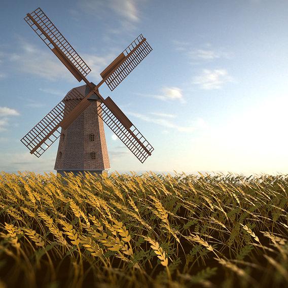 Windmill Rendering