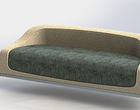 wave sofa 3D model