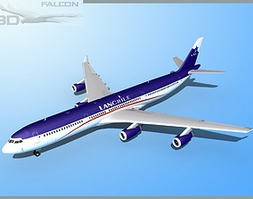 Falcon3D A340-600 Lan Chile rigged