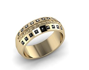 Men Jewerly Ring 0014 3D printable model