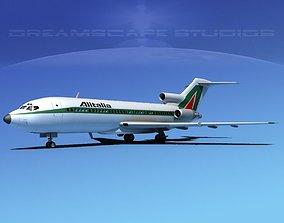 Boeing 727-100 Alitalia 3D model