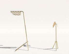 Petite Friture Mediterranean FloorLight 3D model