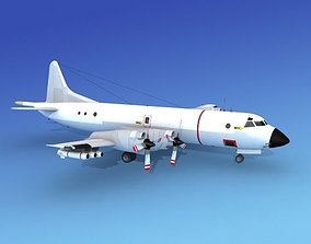 Lockheed P-3 Orion Unmarked 3D model