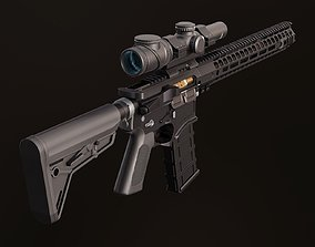 Colt AR-15 3D model