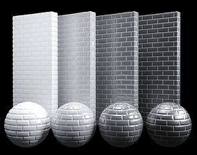3D model Ceramic brick Tiles Texture PBR 100 x 100