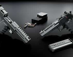 Desert Eagle L5 357 Magnum 3D asset