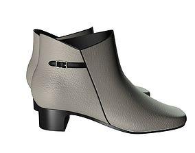 3D Chelsea boots woman 002