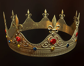 King Crown PBR Ready 3D asset
