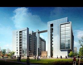 3d building 539