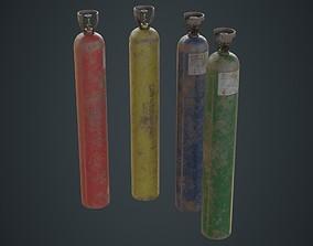 3D model Gas Cylinder 2C
