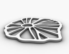 3D printable model FLORALA trivet or coaster