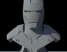 Iron Man Mark III Bust 3D model