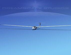 3D model Schleicher ASW 22 Sailplane V08