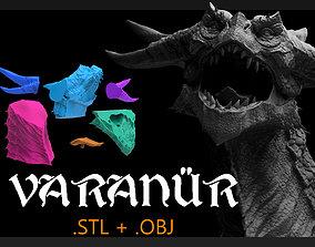 Varanur Dragon - 3D Printing Files