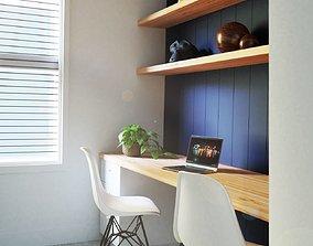 3D model Sunny Home Office