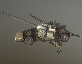 3D model Skyguard Oerlikon area defense system