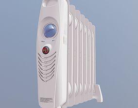 game-ready home heat radiator 3d model