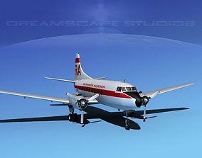 Martin 202 Richards Aviation 3D model