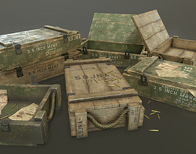 Ammo Crate 3D asset realtime