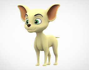 3D model Chihuahua Puppy