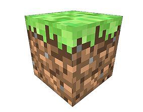 Minecraft Grass Block 3D model