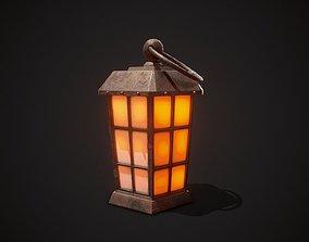 3D asset PBR Lantern