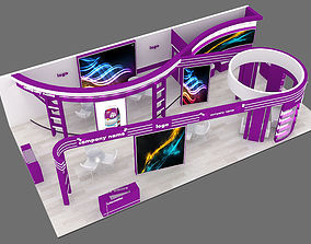 exhibition stand 29 3D model