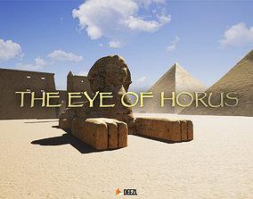 3D asset The Eye Of Horus - Unreal Engine UE4