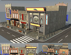 3D model structure Street
