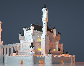 3D model Fantasy Castle 007