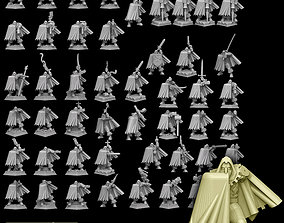 3D printable model Adventurer With 100 Plus Weapon