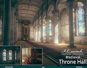 3D model Throne Hall