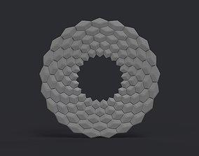 3D print model Cubic frame