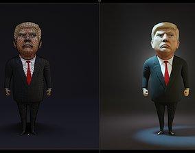 3D asset Trump