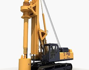 3D model Rotary drilling rig