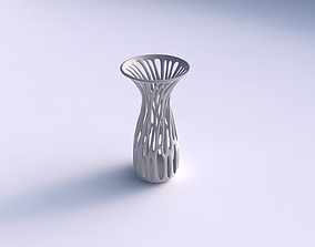 Vase wide with branches widened top 3D printable model