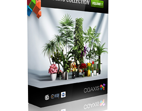 3D model CGAXIS plants collection volume 1