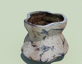 Ceramic flover pot 3D model