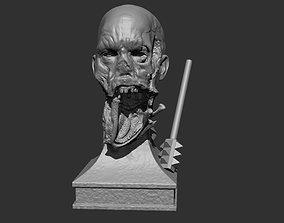 zombie Zombie Bust 3D printable model