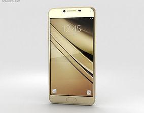 samsung Samsung Galaxy C5 Gold 3D model