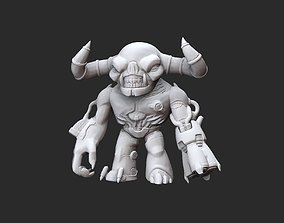 Tyrant Doom Collectable Toy 3D Model STL File