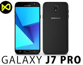 Samsung Galaxy J7 Pro 2017 Black 3D