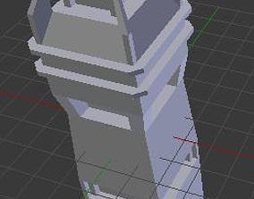 Basic Tower 3D asset